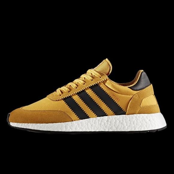 Adidas Iniki Runner in Goldenrod NEW STILL IN BOX! d1a4fbf78
