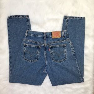 [Levi's] vintage 550 Mom jeans relaxed tapered leg