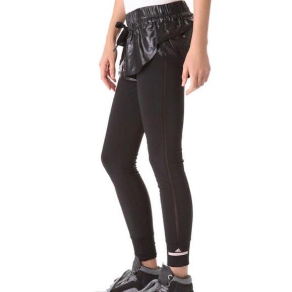 Adidas da stella mccartney, stella mccartney in pantaloni adidas