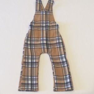Other - Plaid jumper overall