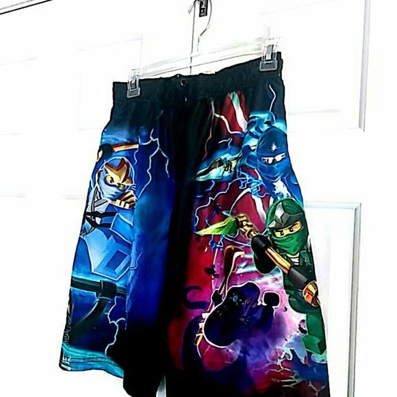 f675baf1b1 lego Swim | Ninjago Boys Size Xl 1416 Shorts | Poshmark