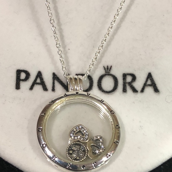 079576aae Pandora Jewelry | Heart Love My Family Locket | Poshmark