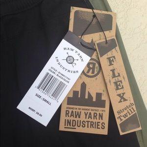 raw yarn industries Pants - Raw Yarn Industries Flex/Stretch Twill Pants
