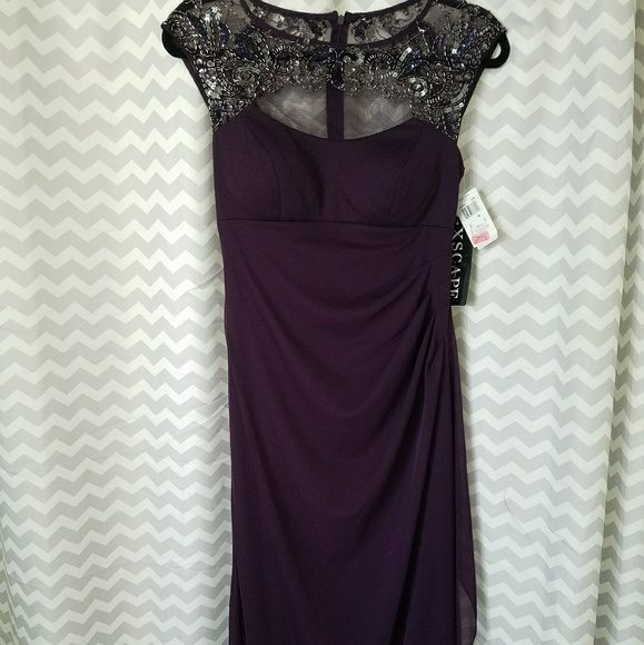 Nwt Xscape Plum Evening Dress   Poshmark