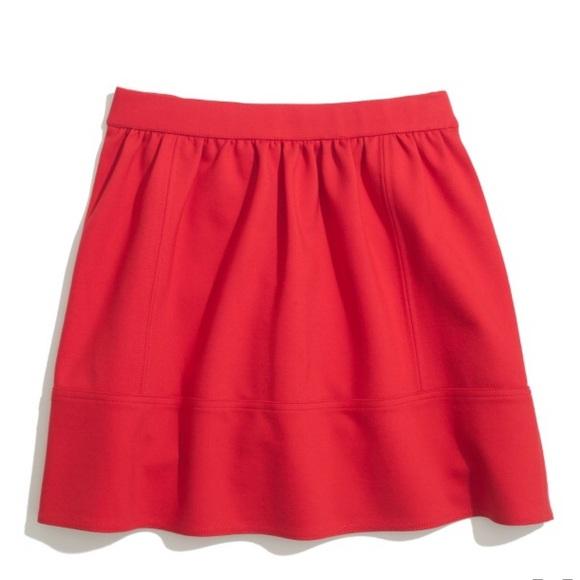 b23f7674bdf39 Madewell Skirts | Ponte Swing Skirt | Poshmark