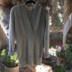 MEGA SOFT cashmere LAmade sweater tunic with hood!