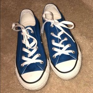 Shoes - ON HOLD - Blue Converse