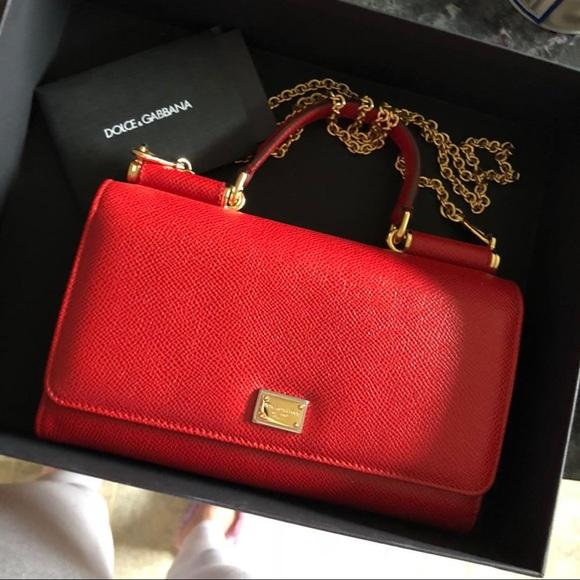 348530bcd1c Dolce & Gabbana Bags | Dolce Gabbana Mini Sicily Bag | Poshmark