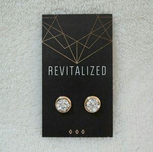 Jewelry - Silver Druzy Earrings