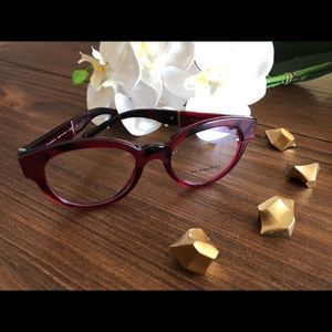 c5a6f67e3f9d Burberry Accessories - ❌❌SOLD❌❌Burberry Glasses Frame Rx Red Horn New