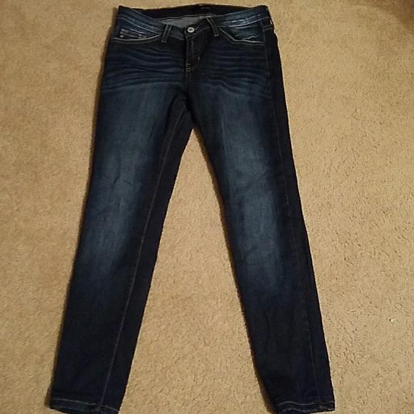 Kan Can Jeans Kan Can Skinny Jeans Faded Dark Denim Poshmark