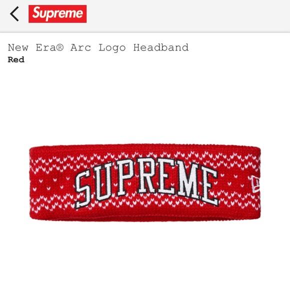 Supreme New Era Arc Logo Headband (Latest Drop). M 5a32e2a313302a5a34000b3d 93762f3b2191