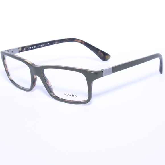 1feb7e18cdcb ... new zealand prada rx eyeglasses military green 06s ubf 1o1 54 0298e  f37a2