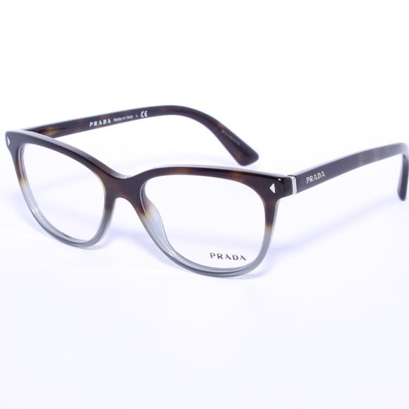 4ab8692710 Prada VPR 14R TKT-1O1 Dark Havana Eyeglasses 52mm.  M 5a32e539713fdef615001a40