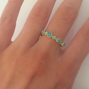 New York & Company delicate blue ring