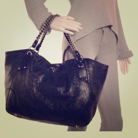 65cad9746062 Prada Bags | Cervo Lux Chain Shoulder Bag Nero Black | Poshmark