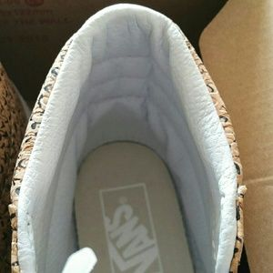 14ac1e9378 Vans Shoes - 🆕Vans Sk8-Hi Slim Embossed Cork Natural Shoes 8.5