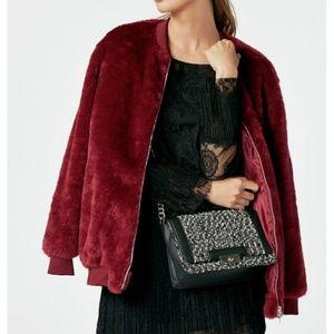 Jackets & Blazers - Coming Soon Plus Size Faux Fur Bomber Jacket