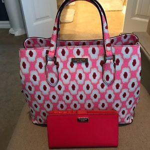 NWT Kate Spade purse with wallet