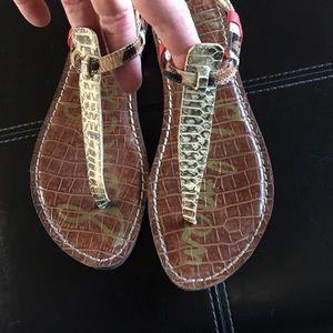 Sam Edelman Gigi Snake skin sandals 7